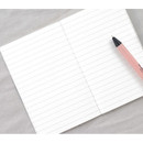 Lined note page - Pocket sewn bound small lined notebook ver2