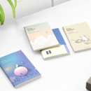 ICONIC Pocket sewn bound small lined notebook ver2