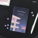 Evening - Pocket sewn bound small plain notebook ver.2