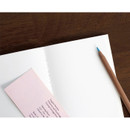 Plain note page - Pocket sewn bound small plain notebook ver.2