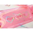 Glitter PVC - N.IVY Simple heart glitter folding pencil case