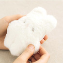 Attachable long hair cute doll with keyring