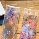 Option - Moons friends flower clear folding pencil case