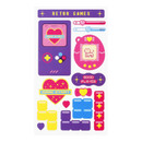 Retro games - After The Rain Retro paper deco sticker