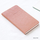 Beige pink - Livework Moment small dateless daily diary planner