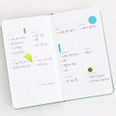 Yearly - Livework Moment small dateless daily diary planner