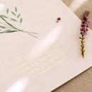 Livework Korean poetry postcard and envelope set