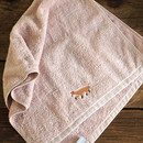 Example of use - Embroidery cotton hand towel set - Animal