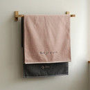 Example of use -  Embroidery cotton hand towel set - Thank you my love