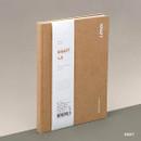 Kraft - Ardium B+W kraft hardcover lined notebook