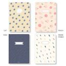 Option - Ardium Soft pattern large lined school notebook
