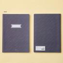 Rain- Ardium Soft pattern large lined school notebook