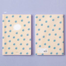 Cat - Ardium Soft pattern large lined school notebook