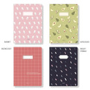 Option - Ardium Soft pattern extra large lined school notebook