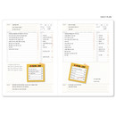 Daily plan - Business 3 months dateless daily planner ver3