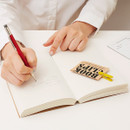 Example of use - I'm Light handy plain notebook