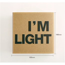 Size of New I'm Light plain notebook