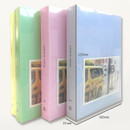 Size - 2young Pastel 4X6 slip in 160 pockets photo album