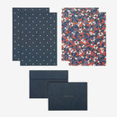 Composition - Daily letter paper and envelope set - Manchu cherry
