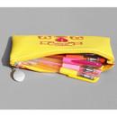 After The Rain Retro PU zipper pencil case pouch
