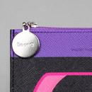 Zipper pouch - After The Rain Retro PU flat zipper pouch
