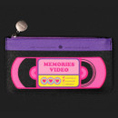 Memories video - After The Rain Retro PU flat zipper pouch