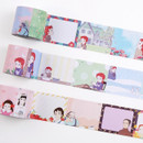 Flying Whales Anne of green gables single roll sticky memo note tape