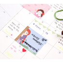 Example of use - Anne of green gables single roll sticky memo note