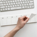 JSTORY Checklist sticky dateless weekly desk planner pad