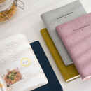 Byfulldesign The way of remembering 3 type grid notebook