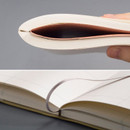 Ribbon bookmark - The way of remembering 3 type grid notebook
