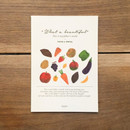 What a beautiful fruits A5 lined notebook