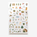 Daily transparent clear deco sticker - Gardening