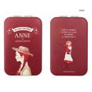 Anne - World literature folding hand mirror