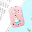 Alice - World literature folding hand mirror
