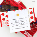 Note - 2NUL Smile sticky it memo notes notepad
