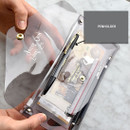 Pen holder - Feel so good shine pencil case pouch with pencil cap