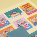 Ardium Pop illustration message card envelope set