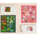Usage example - Ardium Pop illustration colorful point paper deco sticker