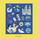 Wonderland - Ardium Pop illustration colorful point paper deco sticker