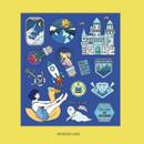 Wonderland - Ardium Pop illustration colorful point paper deco sticker