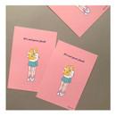 05 - CommaB pastel illustration postcard