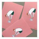 02 - CommaB pastel illustration postcard