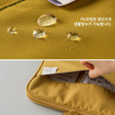 Water resistant - A low hill basic pocket tablet iPad zip pouch ver5