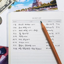 Bucket list - O-CHECK Spring come cash book planner