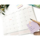 Monthly plan - O-CHECK Spring come dateless 6 month study planner