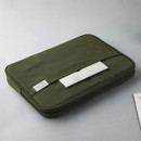 """Example of use - A low hill basic pocket 13"""" laptop pouch case ver5"""