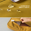 Water resistant - A low hill basic pocket cable zipper pouch case ver5