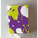 WL - Painting cover medium lined notebook