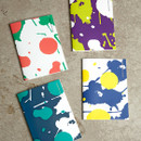 Painting cover medium lined notebook